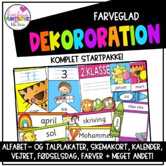 Dekoration klasselokale