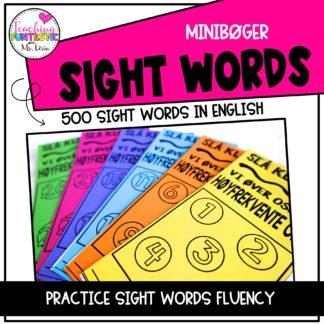 Hyppigste ord på engelsk