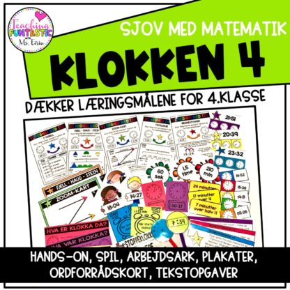 Lær klokken på dansk