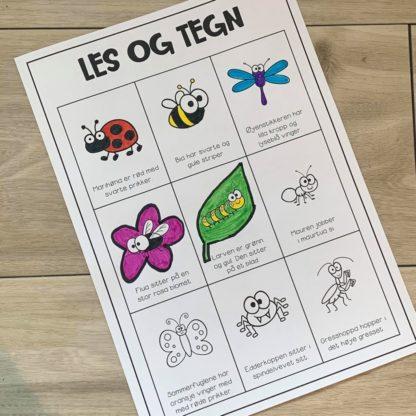 Opgaver insekter og småkryb 3
