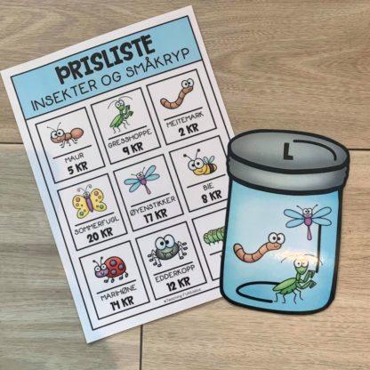 Opgaver insekter og småkryb 7