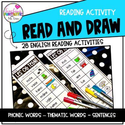 Læse og tegne engelsk