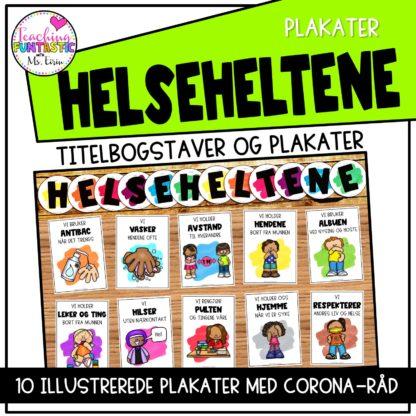 Plakater om smitteværn
