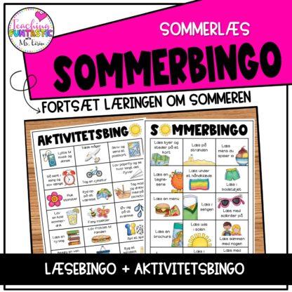 Sommer læsning og aktiviteter