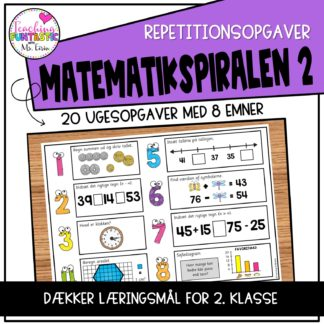 Repetitionsopgaver i matematik for 2.trinn