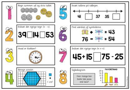 Repetitionsopgaver i matematik for 2.trinn